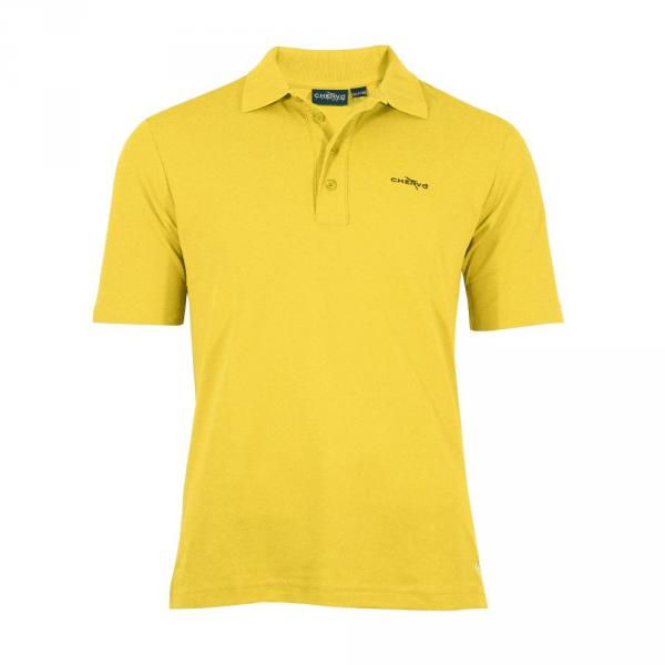 Poloshirt Herren ABEZ T5459 Light yellow Broom Chervò
