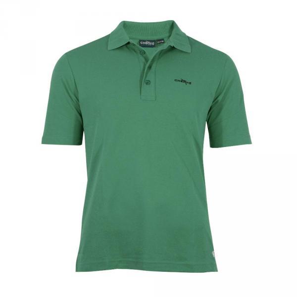 Polo Uomo ABEZ T5459 Verde Smeraldo Flag Chervò