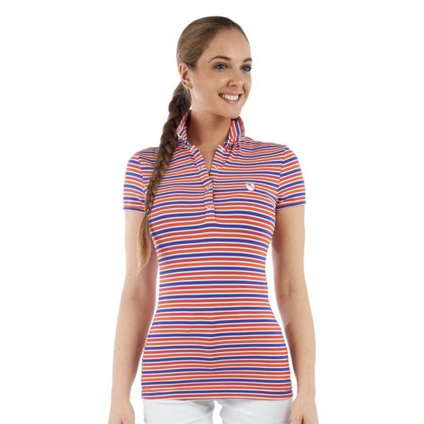 Polo Femme ALIVEDECI 56643 Red, Orange, Blue Chervò