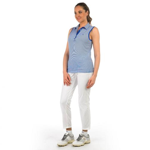 Poloshirt Damen ALL 56729 Light Blue Chervò