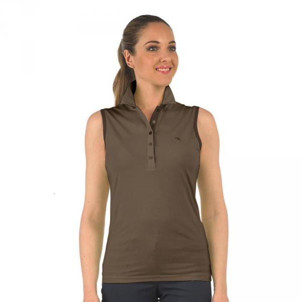 Poloshirt Damen ALL 56729 Brown Chervò