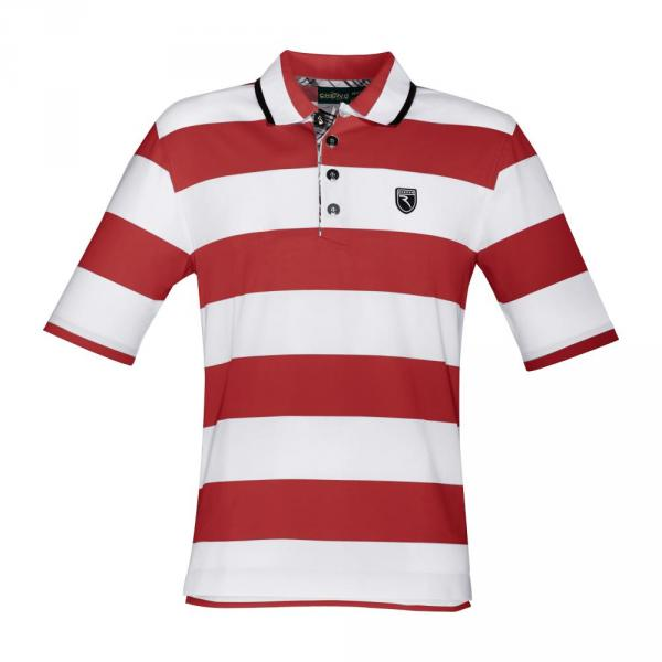 Poloshirt Herren ALLIO 56701 Red, White Chervò