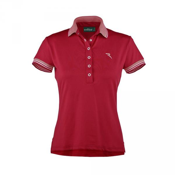 Polo Woman ANDES 56638 Vulcan Red Chervò