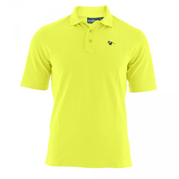 Polo Homme ANGONARA 53510 Yellow Lemon Fluo Chervò