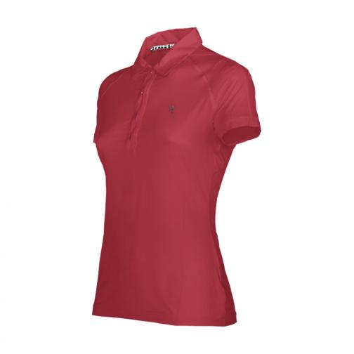 Polo Woman ANKER 56672 Vulcan Red Chervò