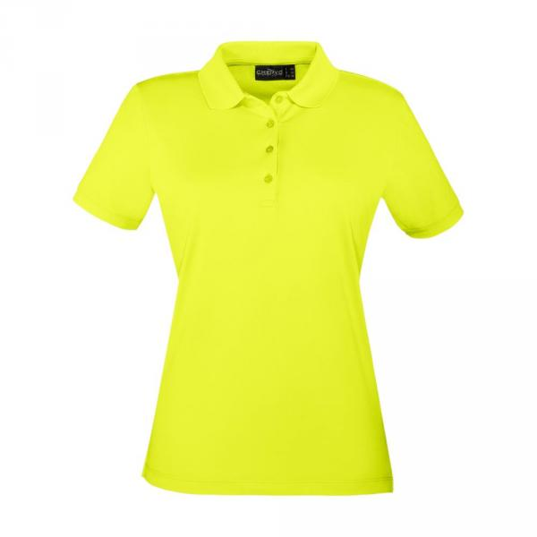 Polo Donna + Bambina ANZOLONEW 56571 Yellow Lemon Fluo Chervò