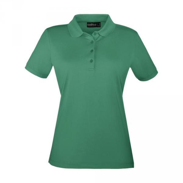 Polo Donna + Bambina ANZOLONEW 56571 Verde Smeraldo Flag Chervò