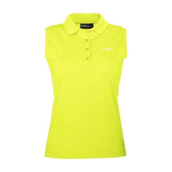 Polo Woman ANZONEW 56572 Yellow Lemon Fluo Chervò
