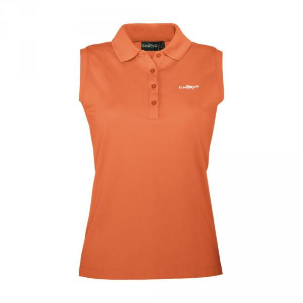 Polo Woman ANZONEW 56572 Orange Fluo Chervò