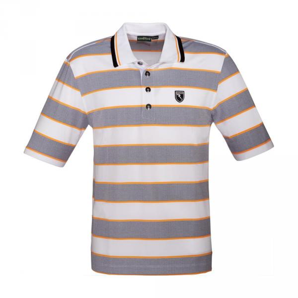 Polo Man ARDORE 56692 Grey, Orange Chervò