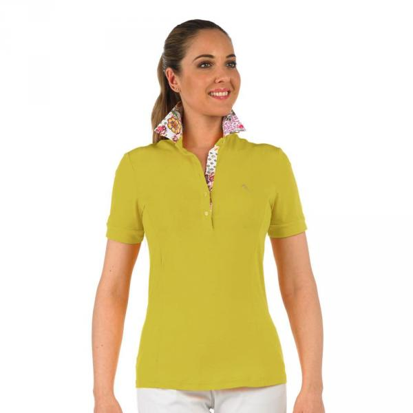 Poloshirt Damen ARISE 56733 Dark Yellow Sirio Chervò