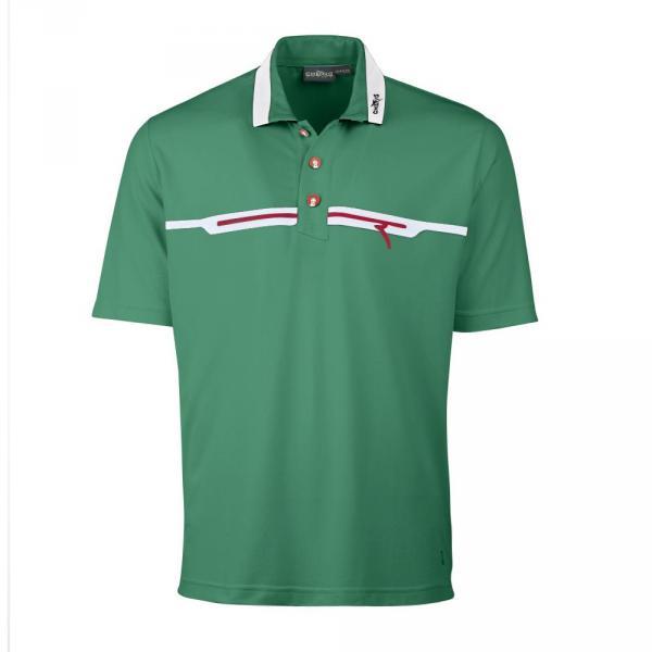 Polo Man ARRANT 56688 Emerald Green Flag Chervò