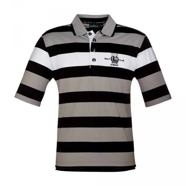 Polo Man ARRIGHETTA 56704 Grey, Black, White Chervò