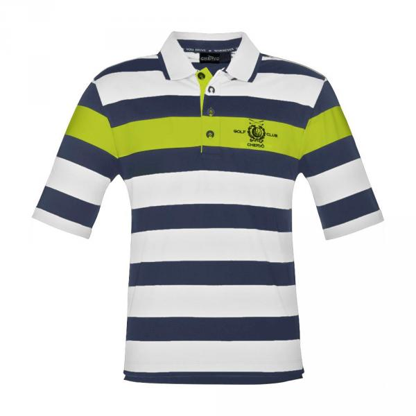 Polo Man ARRIGHETTA 56704 Blue, Yellow, White Chervò