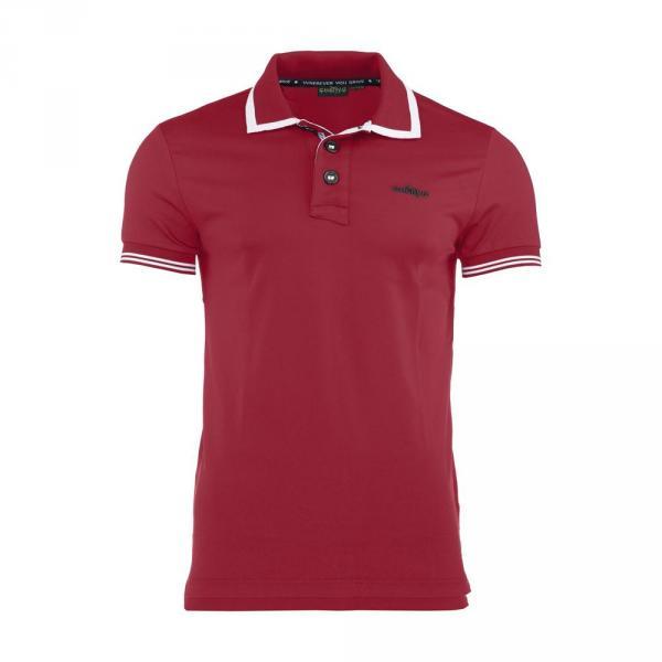 Poloshirt Herren ATTIC 56604 Vulcan Red Chervò