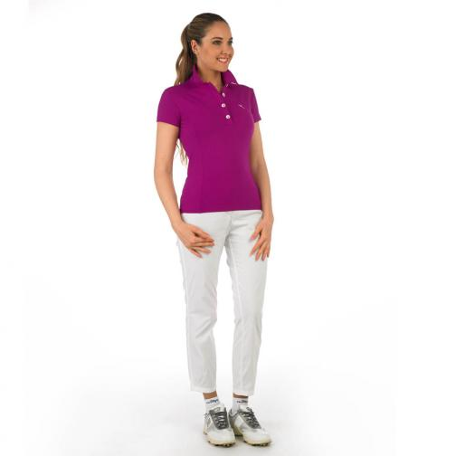 Poloshirt Damen AUTHOR 56597 Purple Chervò