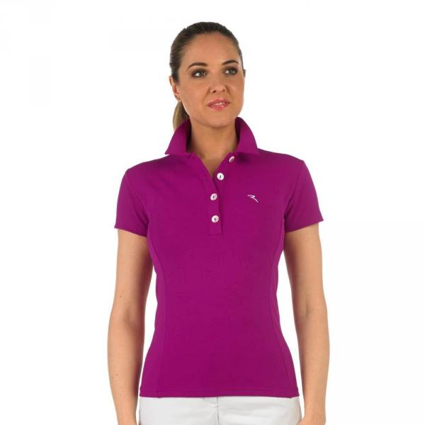 Polo Woman AUTHOR 56597 Purple Chervò