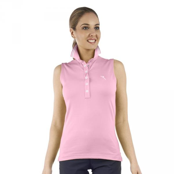Polo Femme AZORES 56639 Pink Fluo Funky Chervò