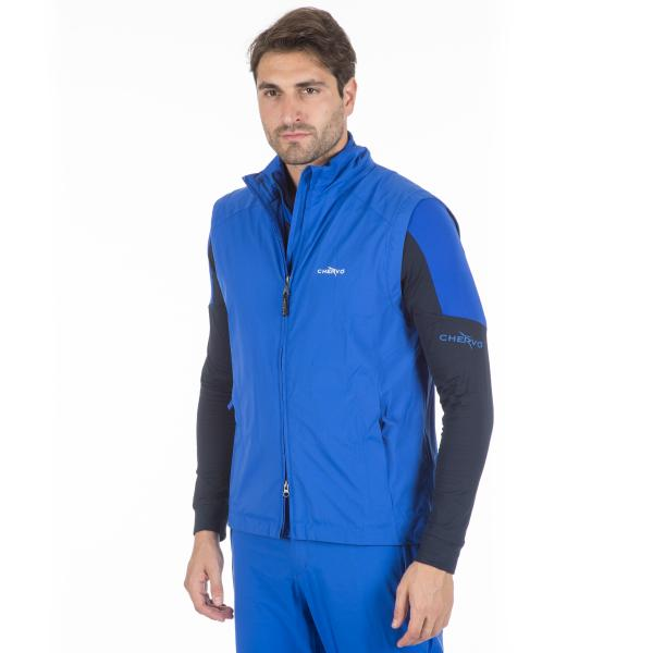 Vest Man ETHIC 56496 Bright Blue Chervò