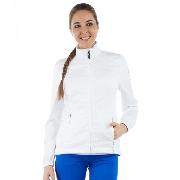 Jacke Damen MESH 56509 White Chervò