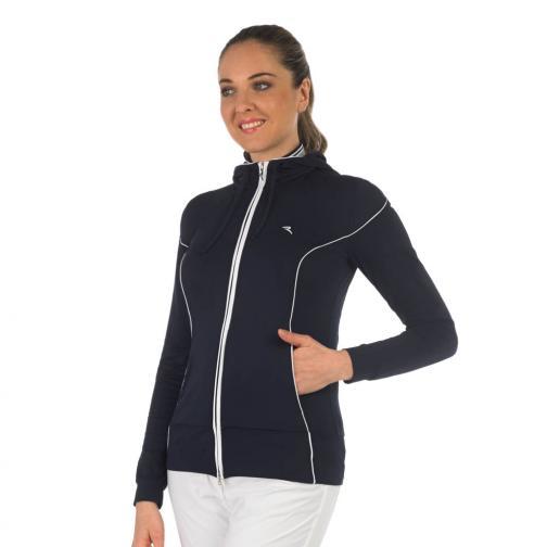 Sweatshirt Damen PEKING 56642 Blue Chervò