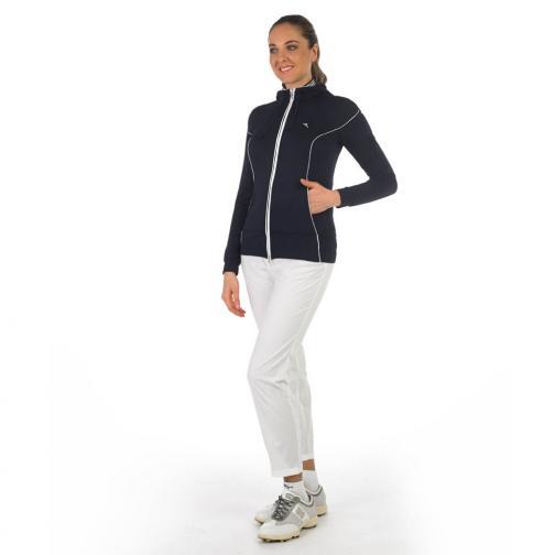 Sweatshirt Woman PEKING 56642 Blue Chervò