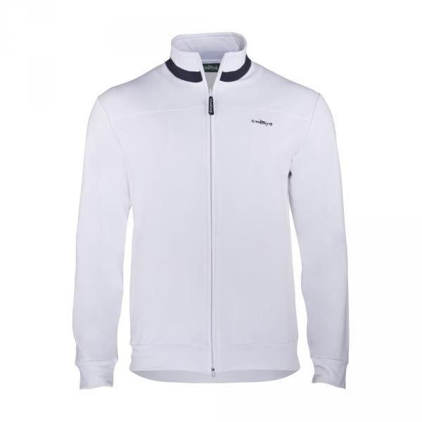 Sweatshirt Man PUFF 56503 White Chervò