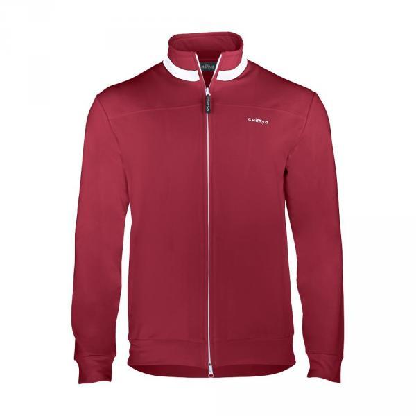 Sweatshirt Man PUFF 56503 Vulcan Red Chervò