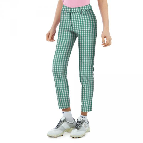 Pantalone Donna SECTION 56659 Verde, Bianco Chervò