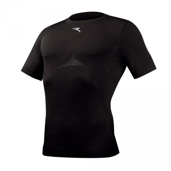Underwear shirt Man LAKE 55905 Black Chervò