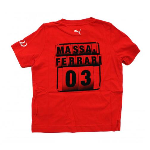 Puma T-shirt  Ferrari Enfant Felipe Massa RED