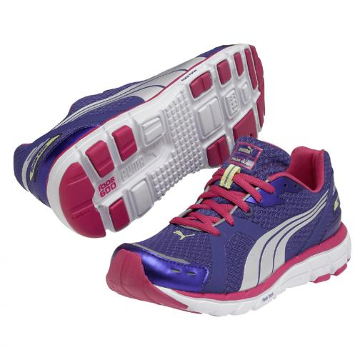 Puma Chaussures Faas 600 Wn's  Femmes spectrum blue-beetroot purple-puma silver-sunny lime