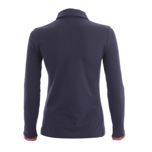 Poloshirt Damen ALADECAPON 55736 BLUE NAVY Chervò
