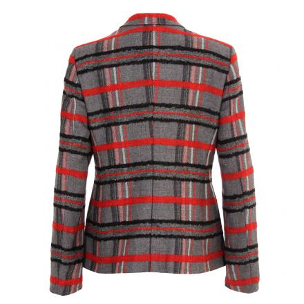 Jacke Damen MUCIO 55711 GREY/RED Chervò