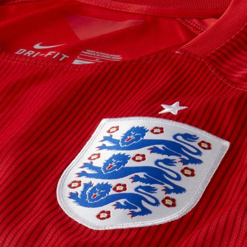 Nike Maillot De Match Away England Soccer   14/16 Red Tifoshop