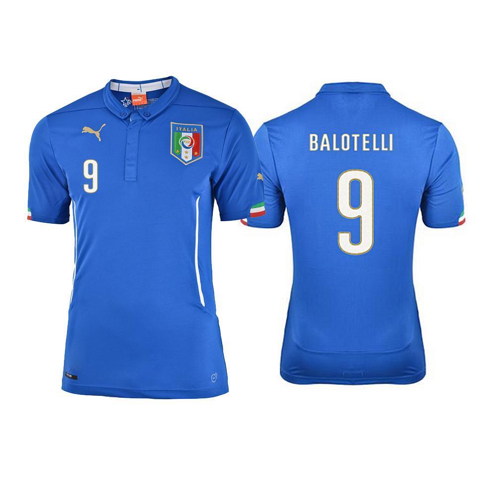 Figc Balotelli Home Shirt Replica