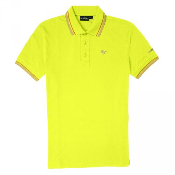 Polo Homme ARTIGLI 56380 Yellow Lemon Fluo Chervò
