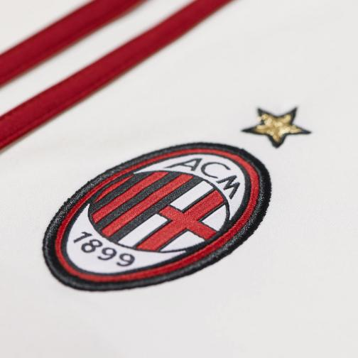 Adidas Shorts Home Milan   14/15 White and Red Tifoshop