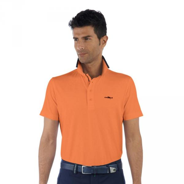 Polo Homme ALAORAR C54UQ Orange Chervò