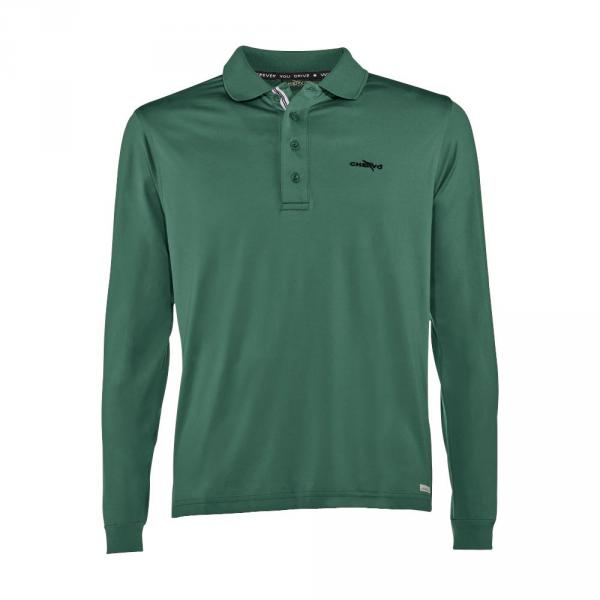Polo Homme ALTON C54ZI Dark Green Chervò