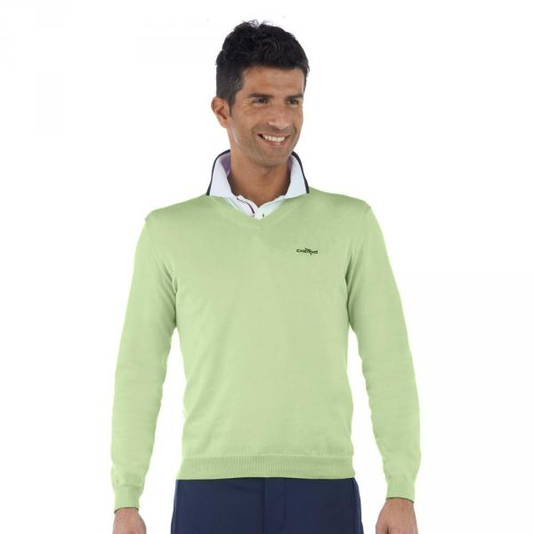 Chandail Homme NACALAMAN 55829 Light Green Chervò