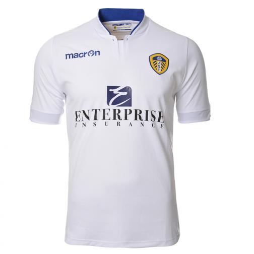 Macron Maglia Gara Home Leeds United Fc   14/15 Bianco