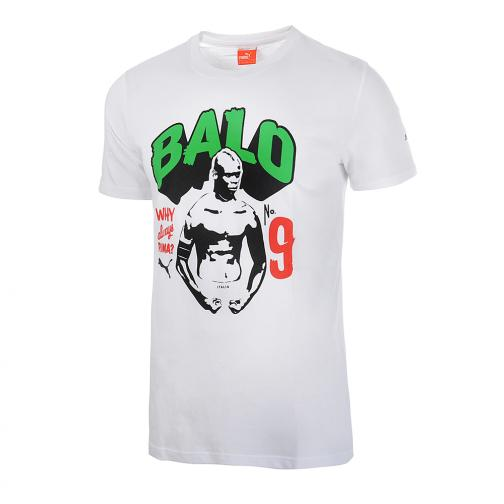 Puma T-shirt   Mario Balotelli White Green