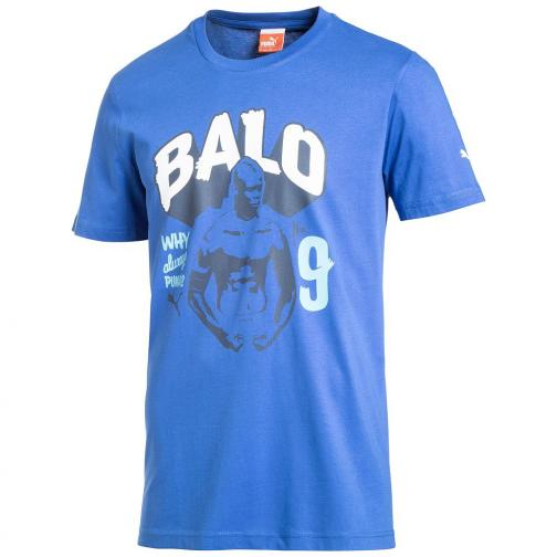 Puma T-shirt  Junior Azzurro Italia
