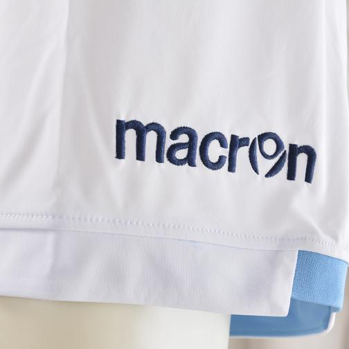 Macron Pantaloncini Gara Home Lazio   14/15 Bianco Tifoshop