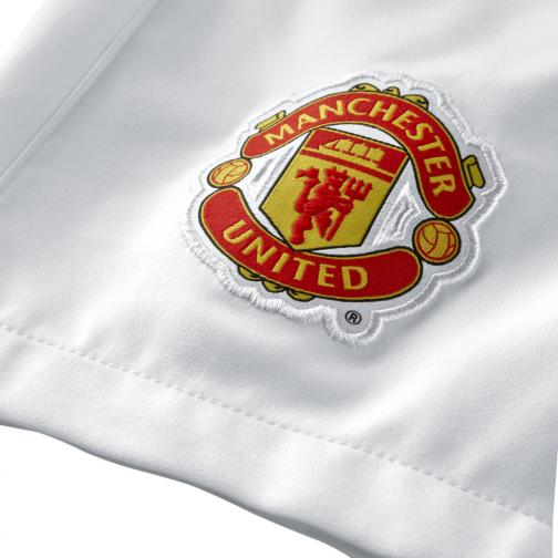 Nike Shorts Home & Away Manchester United   14/15 White Tifoshop