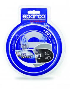 Coppia Lampade SPARCO +50XB ICE EFFECT-H1