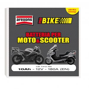 CBTX12BS - BATTERIA SCOOTER E MOTO 10Ah 12V agm