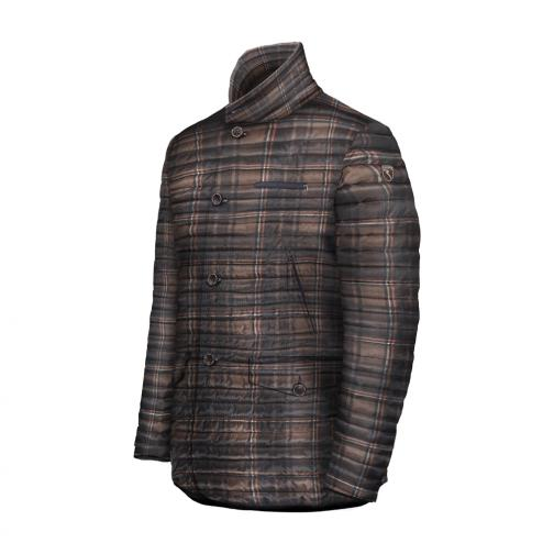 Coat Man MUSETO 56902 Brown Orange Chervò
