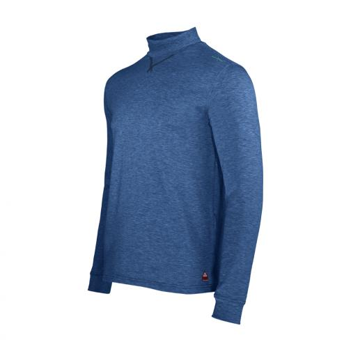 Turtleneck Man TESSER 56998 BLUE DENIM Chervò